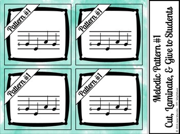 Sol-Mi-La Solfege PowerPoint Game (solfa, sight-singing)