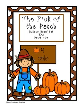The Pick of The Patch Bulletin Board Set
