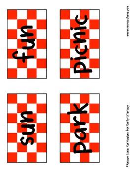 """""""The Picnic Basket"""" Homework Kit for Kindergarten (Set A #6 of 10)"""