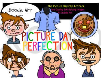 The Picture Day Clipart Pack
