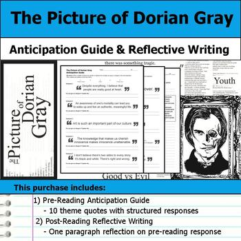 The Picture of Dorian Gray - Anticipation Guide & Reflection