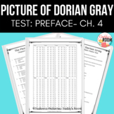 The Picture of Dorian Gray Multiple Choice and Answer Key