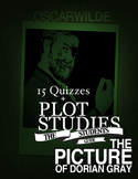 The Picture of Dorian Gray Novel Study + 15 Quizzes (Answe