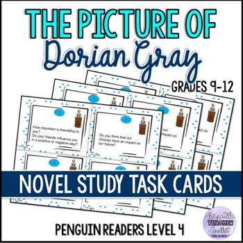 The Picture of Dorian Gray Discussion Task Cards