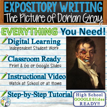The Picture of Dorian Gray - Text Dependent Analysis Expository Writing