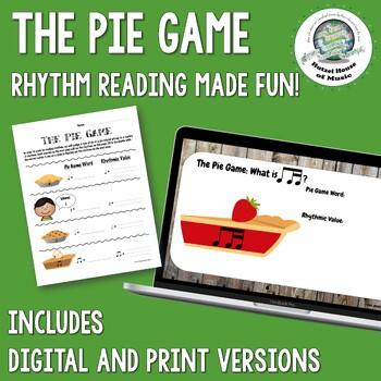 The Pie Game: Rhythm Reading Made Fun