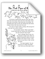The Pied Piper of Hamlin (A Tale from the Grimm Brothers)
