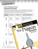 The Pigeon Books Leveled Comprehension Questions