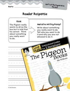 The Pigeon Books Reader Response Writing Prompts