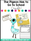 The Pigeon Has to Go to School Craft and Writing