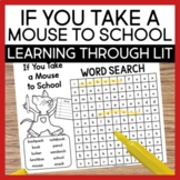 If You Take a Mouse to School Learning Through Literature