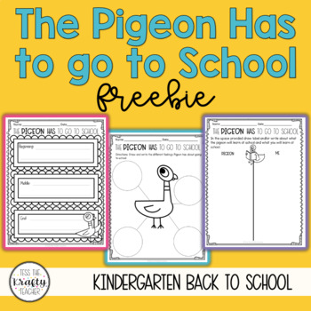 The Pigeon Has to Go to School Reading Activities