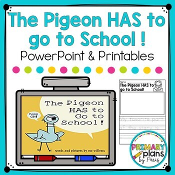 The Pigeon Has to go to School Close Reading