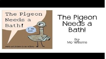 The Pigeon Needs a Bath Activity