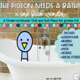 Sub Plans - The Pigeon Needs a Bath | Digital Distance Learning