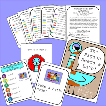 The Pigeon Needs a Bath! by Mo Willems - Readers Theater