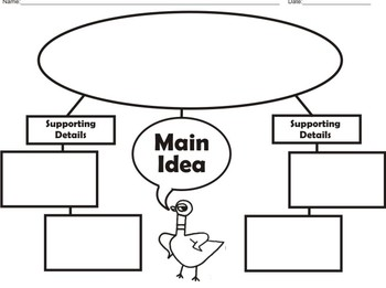 """""""The Pigeon"""" Story Elements (Graphic Organizers)"""
