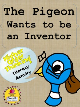 The Pigeon Wants to Be An Inventor {FREEBIE} Literacy Activity