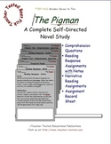 The Pigman: A Complete Novel Study
