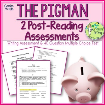The Pigman Assessments-Two Assessments to Assess Your Students Knowledge