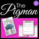 The Pigman - Interactive Printable Workbook for Middle / Senior