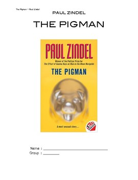The Pigman - Paul Zindel - Reading activities and discussion