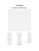The Pigman Vocabulary Word Search for Chapters 1-2