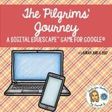 The Pilgrims' Journey: Thanksgiving Digital EduEscape™ Breakout Game for Google®