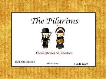 The Pilgrims  ~ Cornerstones of Freedom Book