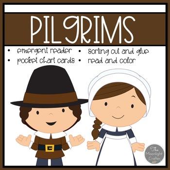 The Pilgrims Emergent Reader and Mini Literacy Set