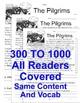 The Pilgrims FACTS Main Idea Close Reading 5 level passages Informational Text