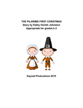 The Pilgrims First Christmas