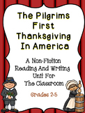 The Pilgrims First Thanksgiving In America