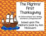 The Pilgrims' First Thanksgiving Unit