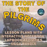 The Pilgrims Thanksgiving Lesson Plans & Interactive Noteb