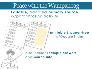 The Pilgrims: Peace with the Wampanoag