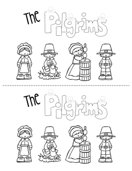 The Pilgrims - Printable Booklet