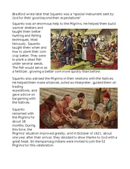 Pilgrims: The True Story of Squanto and the First Thanksgiving