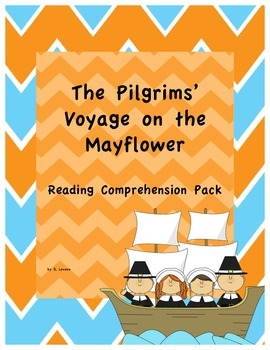 The Pilgrims' Voyage on the Mayflower Reading Comprehension Pack