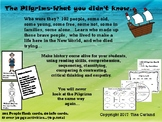 The Pilgrims-What you didn't know...