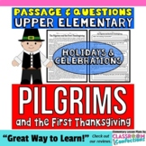 The Pilgrims and the First Thanksgiving: Reading Passage a