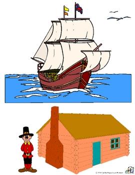 The Pilgrims on the Mayflower