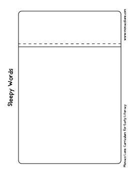 """The Pillow Case"" Homework Kit for Kindergarten (Set A #1 of 10)"