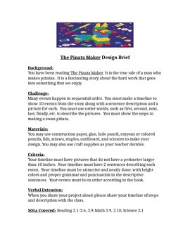 The Pinata Maker STEM Children's Engineering Design Brief