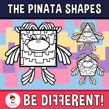 Pinata Shapes Clipart
