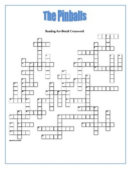The Pinballs: Reading-for-Detail Crosswords—50 Clues!