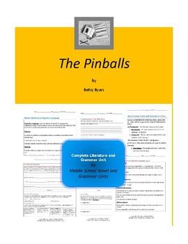 The Pinballs Complete Literature and Grammar Unit