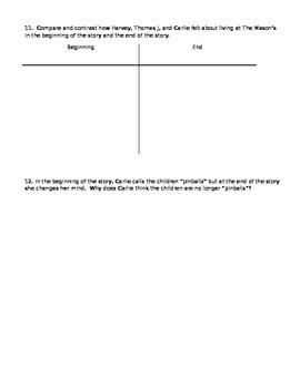 The Pinballs Comprehension Test