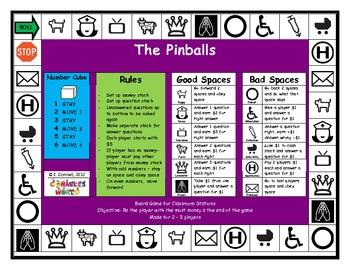 The Pinballs Pin Balls Board Game