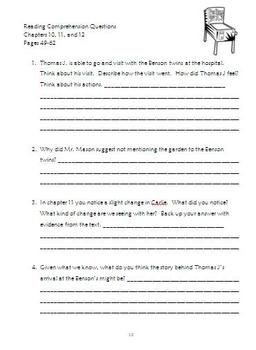 The Pinballs Reading Packet and Final Project